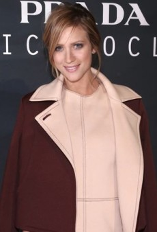 Brittany Snow Goes Nearly Nude in Monique Lhuillier and Tamara Mellon