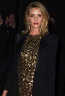 Rosie Huntington-Whiteley Wears Right-Off-the-Runway Antonio Berardi