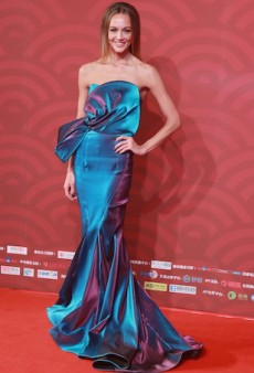 Sharni Vinson Was a Disco Mermaid for a China Movie Premiere