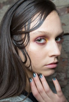 Backstage Beauty: A Jungle at Christian Siriano Fall 2015