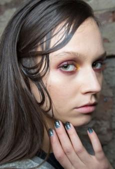 Backstage Beauty: A Jungle at Christian Siriano Fall 2015