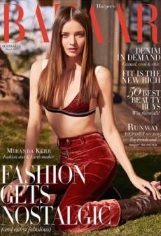 Miranda Kerr Looks Stunning in Louis Vuitton on Harper's Bazaar Australia (Forum Buzz)