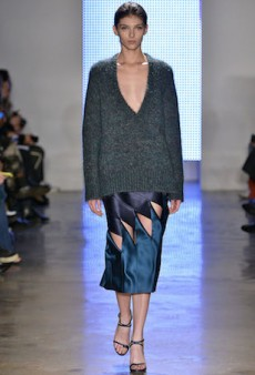 Celestial Hues Dominate Dion Lee's Fall 2015 NYFW Runway