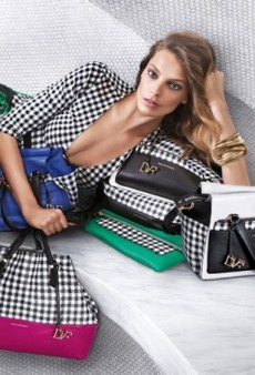 Daria Werbowy Returns for Diane von Furstenberg's Spring 2015 Campaign (Forum Buzz)