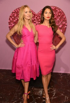 Candice Swanepoel and Lily Aldridge Dish on Valentine's Day Plans, the Victoria's Secret Swim Special and More