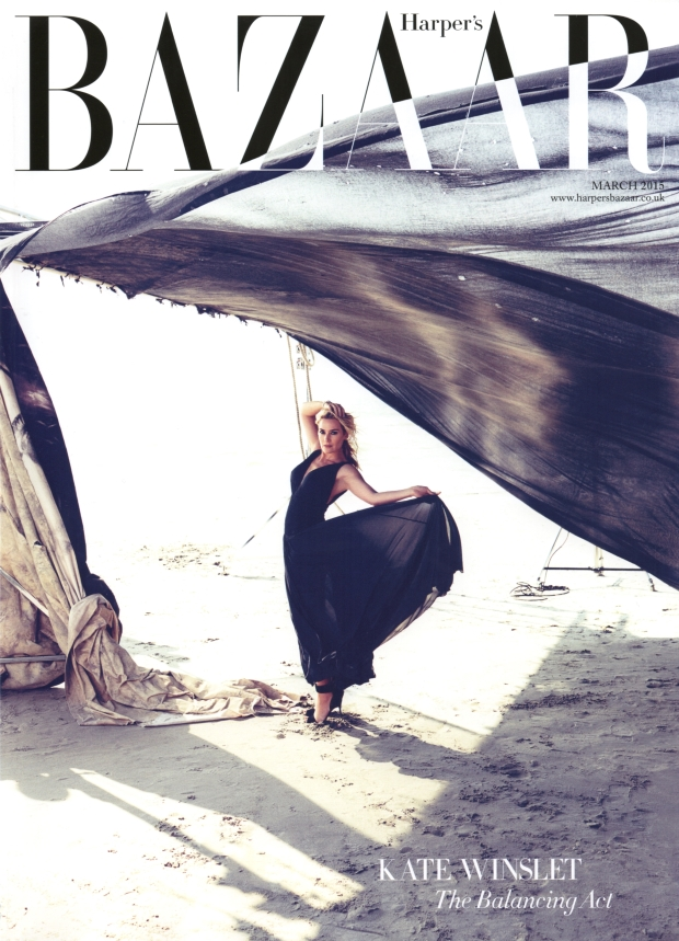 UK Harper's Bazaar March 2015 Kate Winslet