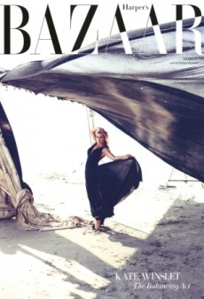 Kate Winslet Scores Another Cover of UK Harper's Bazaar (Forum Buzz)
