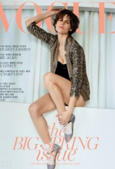 Cass Bird Photographs Saskia de Brauw for Vogue Korea's March Cover (Forum Buzz)