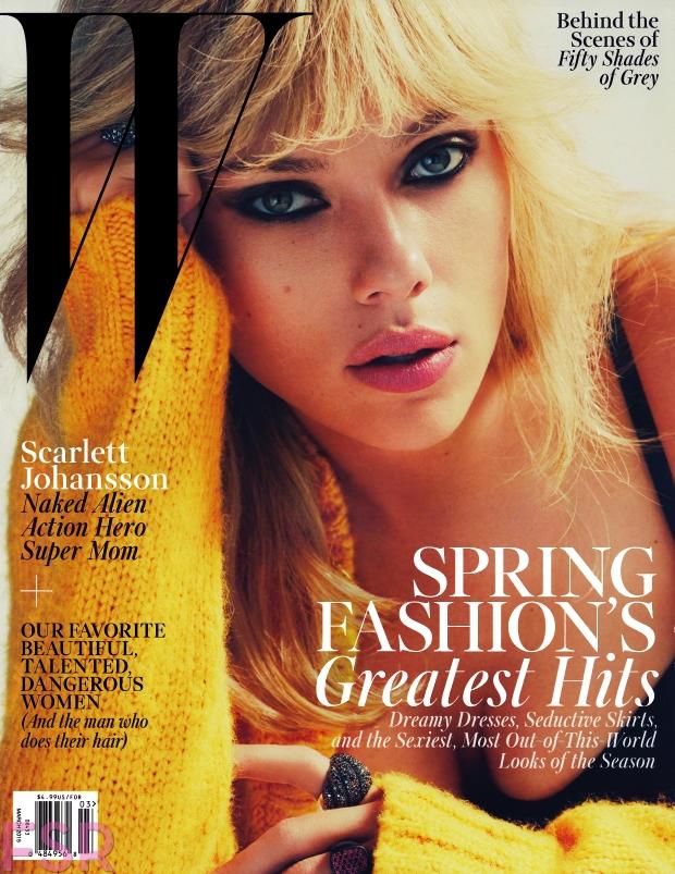 W Magazine March 2015 Scarlett Johansson