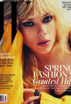 Scarlett Johansson Smolders on W's March Cover (Forum Buzz)