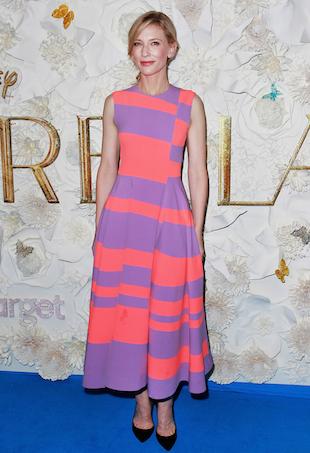 Cate Blanchett is Roksanda for the Cinderella premiere in Sydney