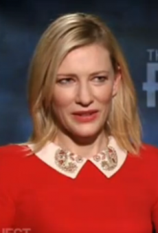 Cate Blanchett Swears at Journalist Over Catty Question