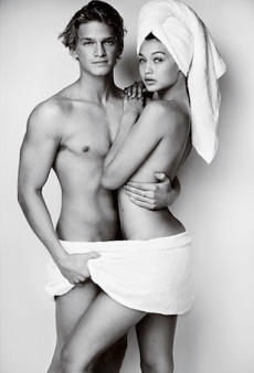Everyone's Having a Laugh Over Cody Simpson and Gigi Hadid's Nude Photo Shoot