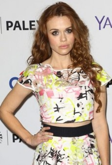 Holland Roden Gets Graphic in Milly
