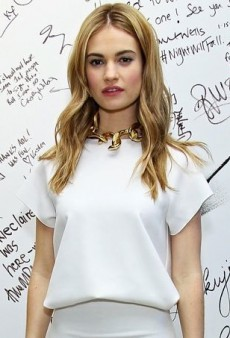 Lily James Continues to Impress in Camilla and Marc