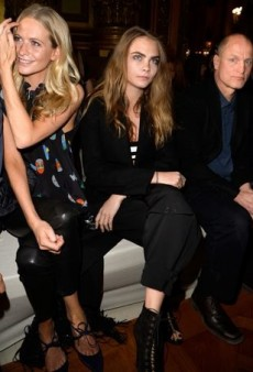 Celebs Redefine Parisian Chic Front Row at the Paris Fashion Week Fall 2015 Shows