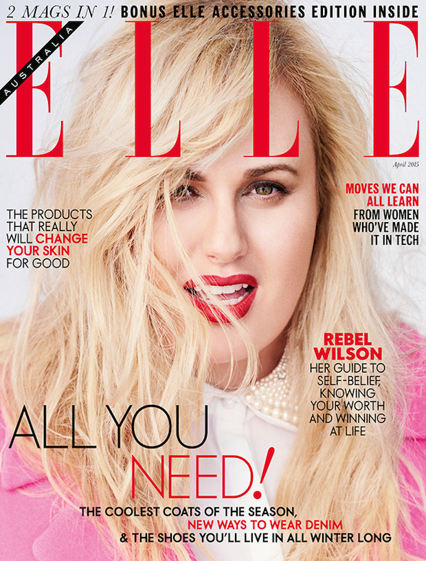 Rebel Wilson ELLE Australia April 2015
