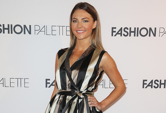 Sam Frost at Fashion Palette 2015 Spring 2015 show
