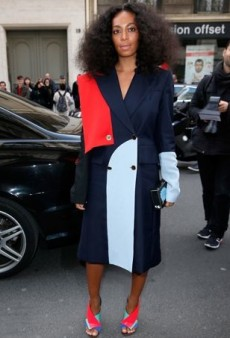 Style Showdown: Solange and Beyoncé Appear to Be Raiding Each Other's Closets Again and More Matching Celebs