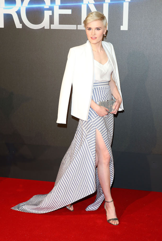Veronica Roth at Insurgent Wolrd Premiere in London