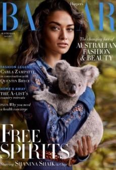 Shanina Shaik Cradles a Koala on Harper's Bazaar Australia (Forum Buzz)