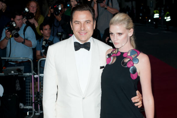 Lara Stone David Walliams