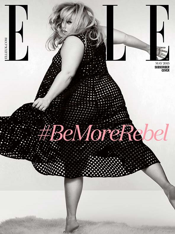 UK ELLE May 2015 Rebel Wilson Doug Inglish