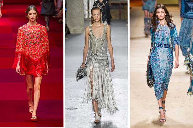 Dolce & Gabbana, Proenza Schouler, Etro Spring 2015