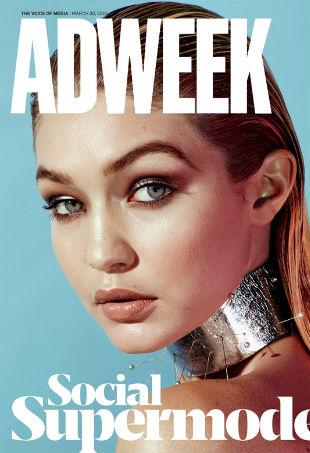Gigi Hadid Adweek