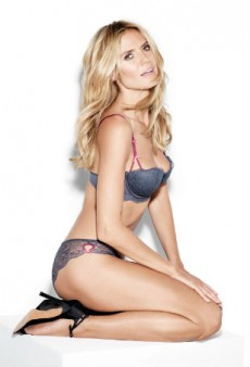 Heidi Klum Nails It with Her First Lingerie Collection