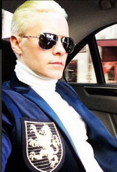 Jared Leto's Hair Is Short and Platinum Blonde Now