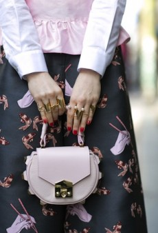 Milan Fashion Week Fall 2015 Street Style: The Accessories