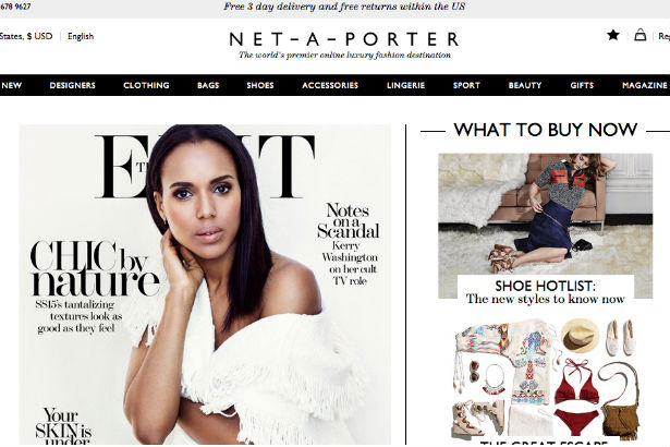 Net-A-Porter Amazon sale