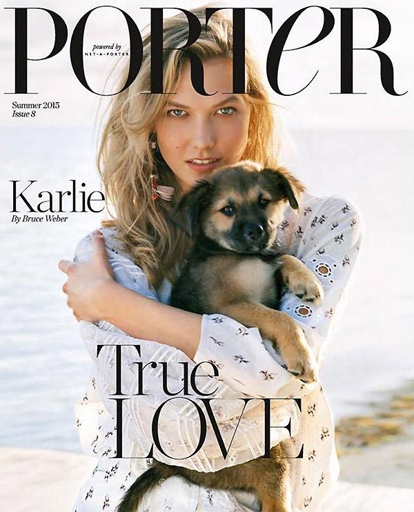 Porter #8 Summer 2015 Karlie Kloss Bruce Weber