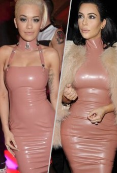 Style Showdown: Rita Ora and Kim Kardashian Load Up on Latex in Atsuko Kudo and More Matching Celebs