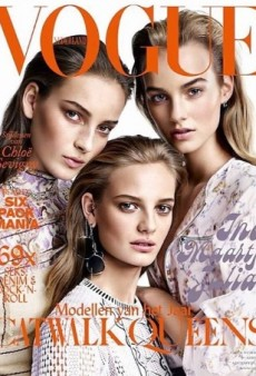 Vogue Netherlands Delivers Another Multi-Girl Cover (Forum Buzz)