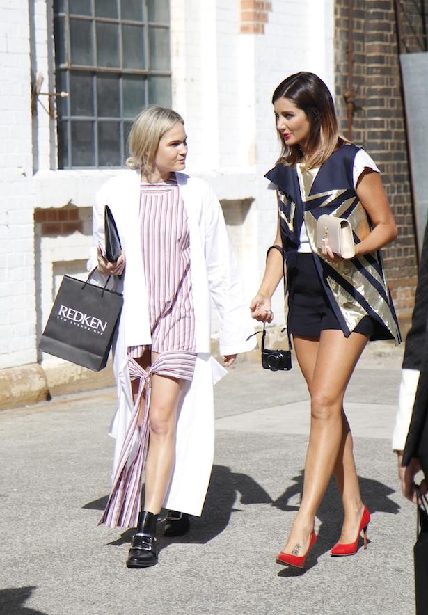 Brooke Testoni street style MBFWA