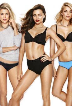 Miranda Kerr Returns as a Bonds Girl for 100th Anniversary Campaign