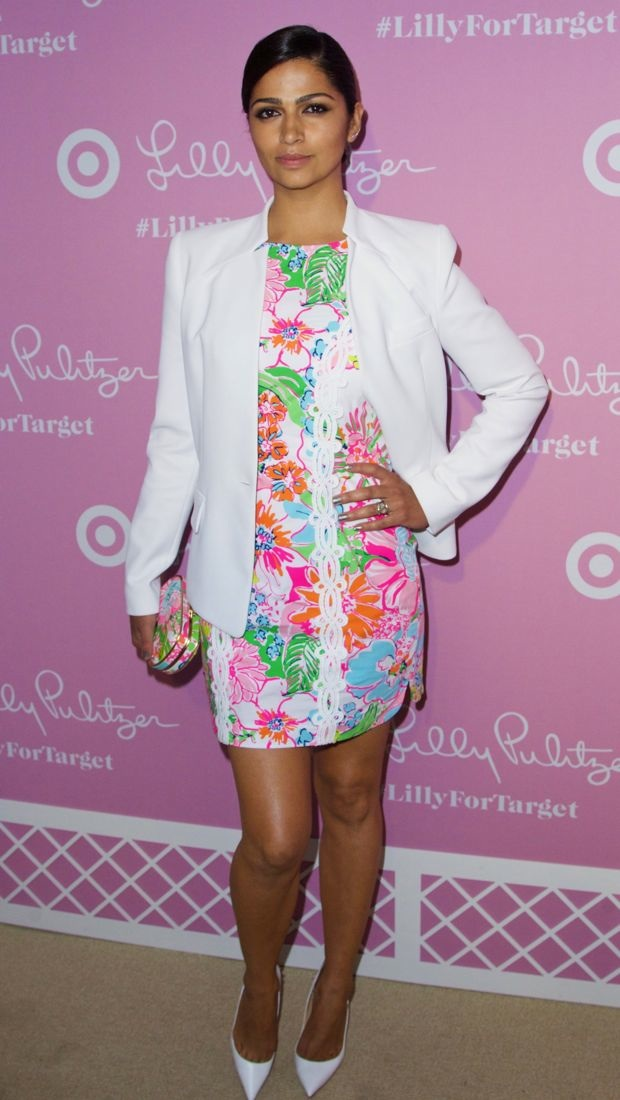 Camila Alves at the Lilly Pulitzer x Target Launch