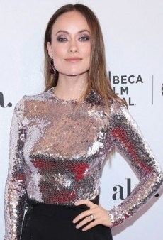 Olivia Wilde Brings Some Glitz to Tribeca in Christian Dior