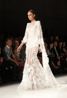 Steven Khalil Couture 2015 Runway