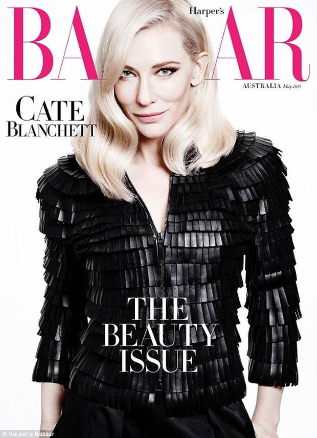 Harper's Bazaar May 2015 Cate Blanchett Tom Munro