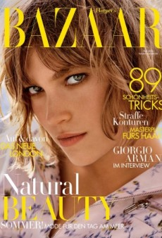 It's Wonderful to See Arizona Muse on the Cover of Harper's Bazaar Germany (Forum Buzz)