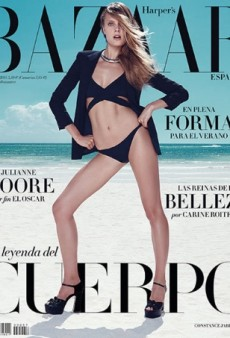 Constance Jablonski on Harper's Bazaar Spain Fails to Impress (Forum Buzz)