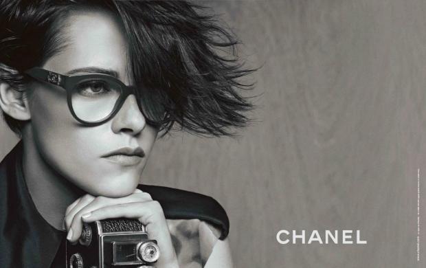 Ad Campaign Chanel Eyewear Spring 2015 Kristen Stewart Karl Lagerfeld