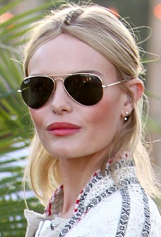 Coachella Beauty: Kate Bosworth's Braided Part and Messy Bun