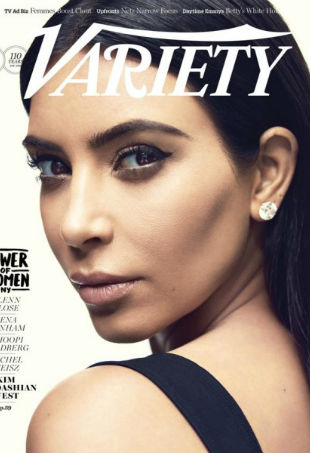 Kim Kardashian Variety Power of Women