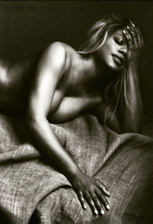 Laverne Cox Takes It Off For Allure TheFashionSpot