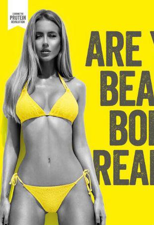 Protein World beach body ready ad