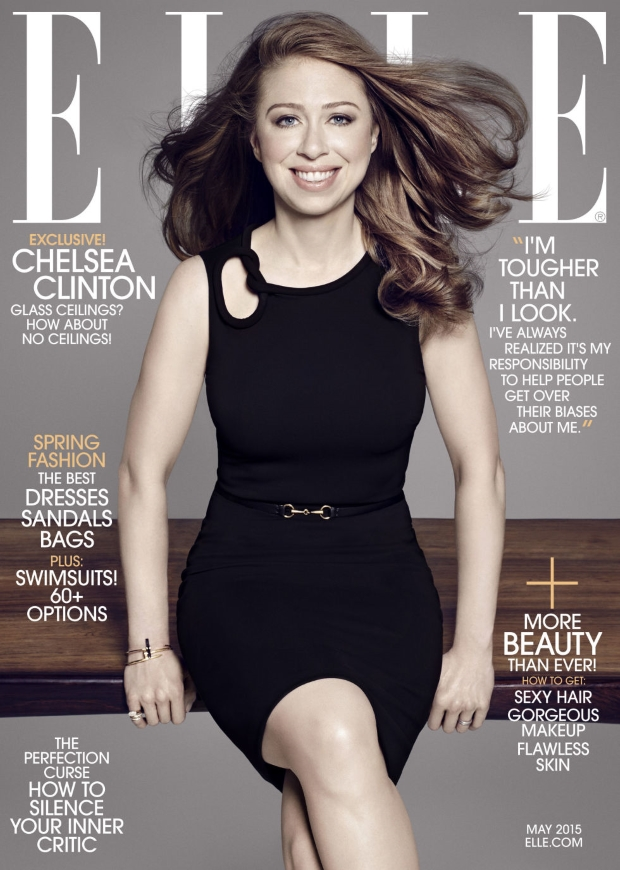 US ELLE May 2015 Chelsea Clinton Paola Kudacki